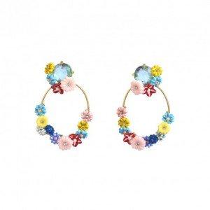 creoles-petites-fleurs-et-pierre-bleue